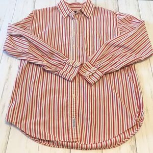 Abercrombie & Fitch Long Sleeve Button Down. Small